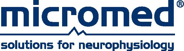 Logo Micromed blue