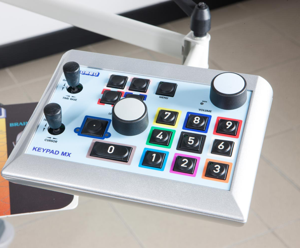 Micromed - MYOQUICK product line: Keypad MX