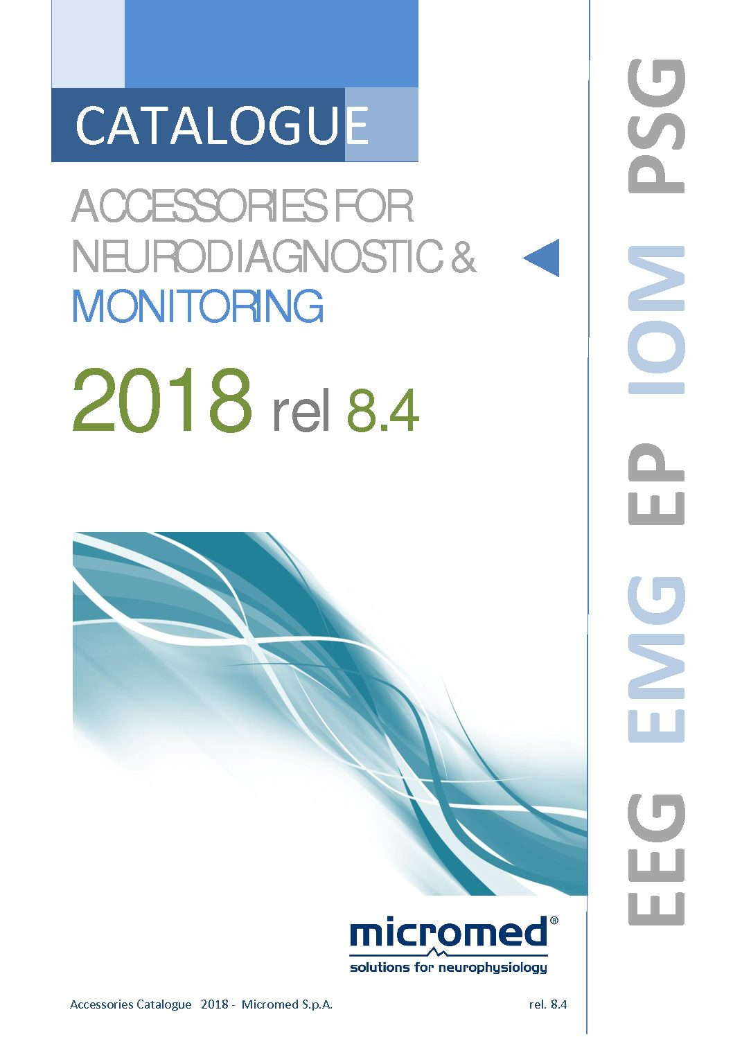 Micromed Accessories Catalogue ENG 8.4 3 pdf - BRAIN QUICK AMBULATORY LINE
