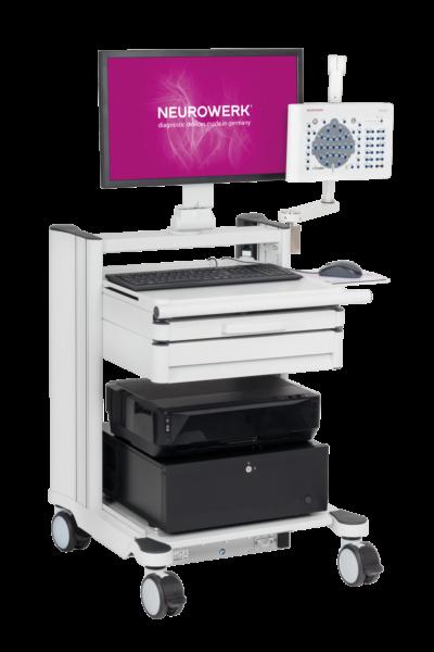 NEUROWERK EEG Trolley Type I 01 WEB 400x600 - Carts and Equipment