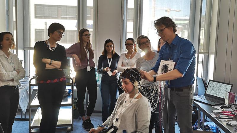 Micromed Group - DGKN 2019 in Freiburg. EEG Kurs mit Herrn Frank Böhme.