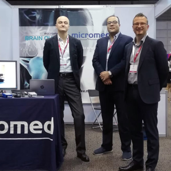 Micromed Group - The Micromed Team on the booth.