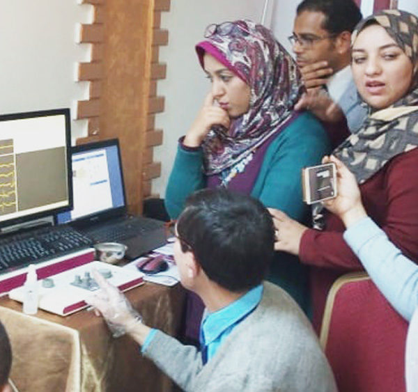 Micromed Group - Presentation of a NEUROWERK EMG at Minya University.