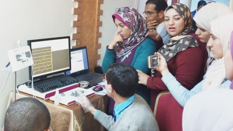 Micromed Group - Presentation of a NEUROWERK EMG at Minya University.