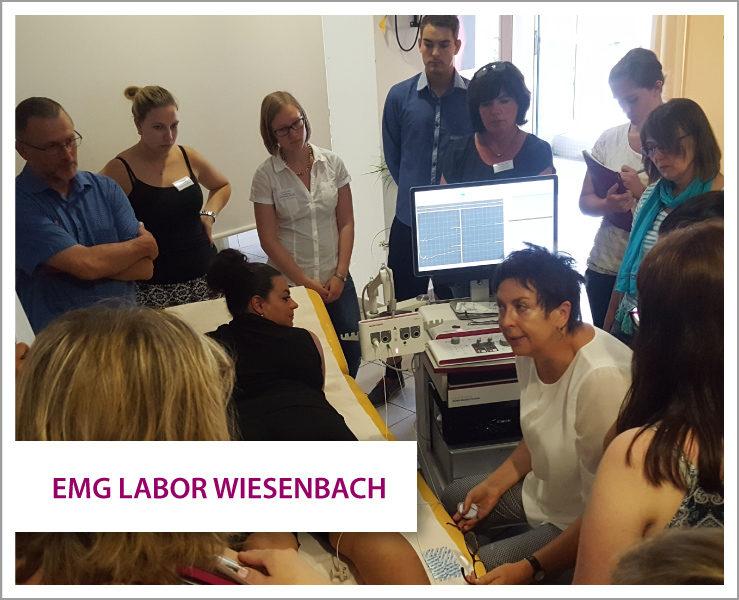 Micromed Group Deutschland - SIGMA Medizin-Technik GmbH: Weiterbildung / Schulungen, Unser Schulungspartner EMG-Labor Wiesenbach