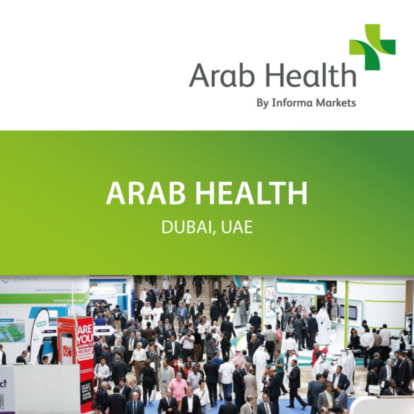 Micromed Group - Visit us at ARAB HEALTH Exhibition in Dubai