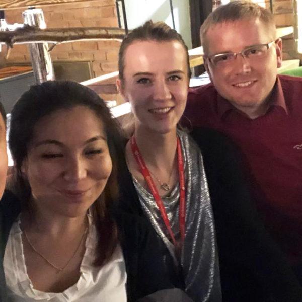 Micromed Gruppe - Das Team von ORDAMED machte Florian Weise mit der Gastfreundschaft in Kasachstan bekannt.