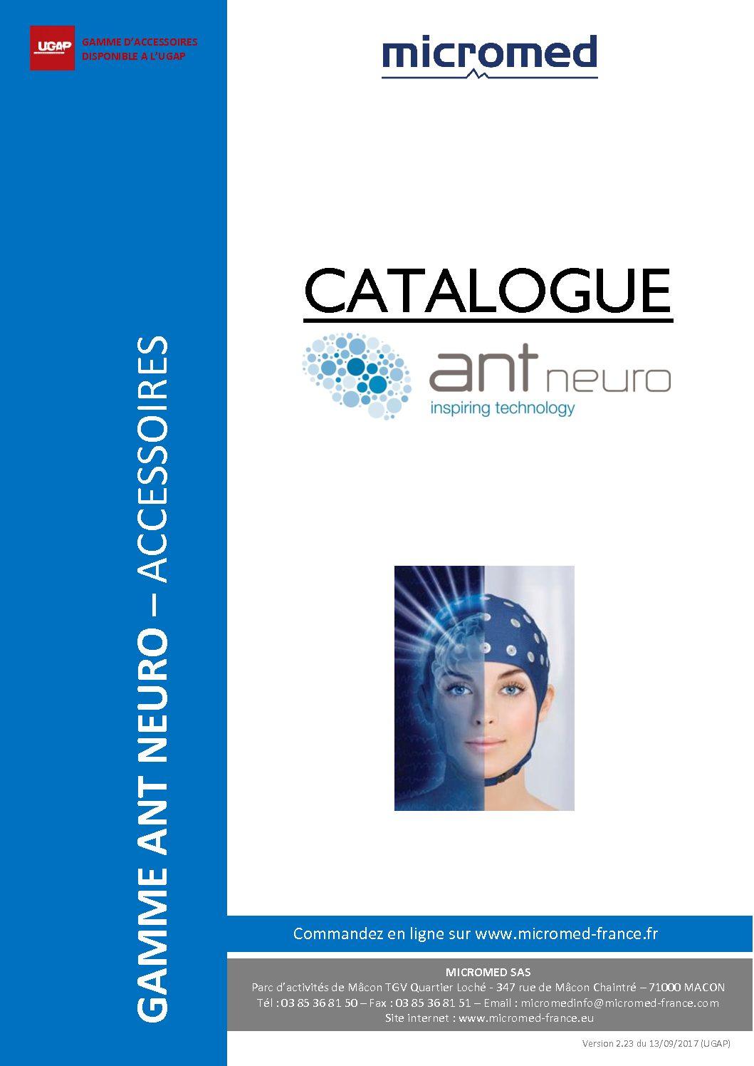 Supports Catalogues Catalogue accessoires ANT pdf - Accessoires