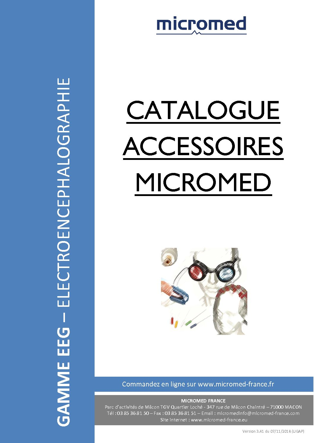 Supports Catalogues Catalogue accessoires EEG 1 pdf - Accessoires