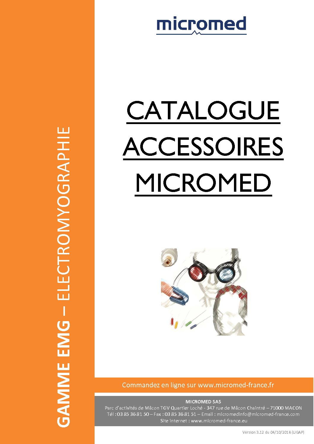 Supports Catalogues Catalogue accessoires EMG 1 pdf - Accessoires