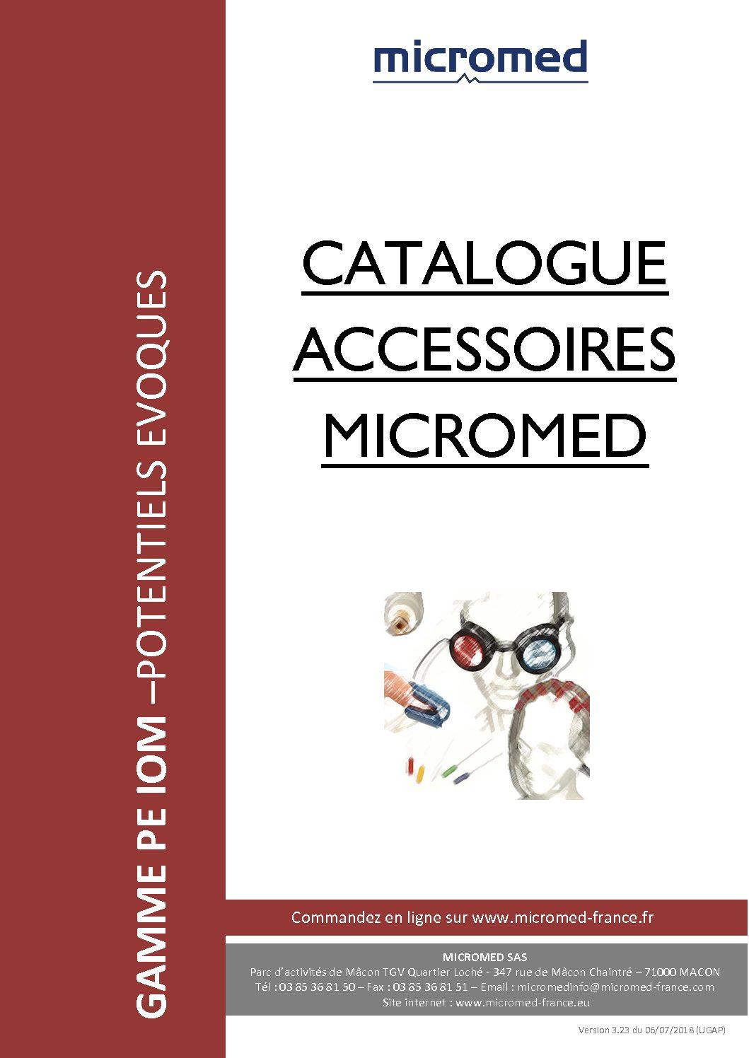 Supports Catalogues Catalogue accessoires PE pdf - Accessoires