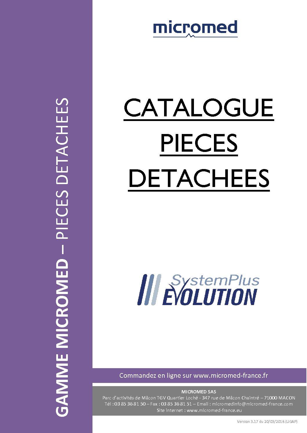 Supports Catalogues Catalogue pieces detachees pdf - Accessoires