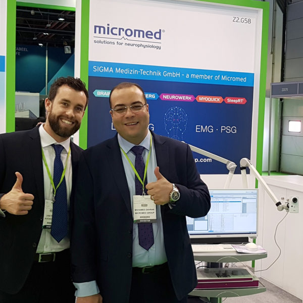 SIGMA / Micromed Gruppe auf der ARAB HEALTH 2020 in Dubai