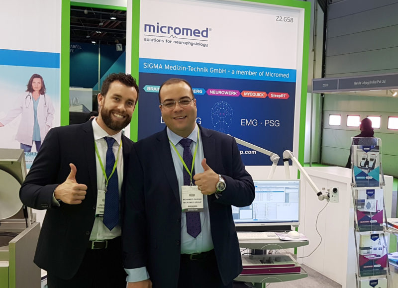 SIGMA / Micromed Gruppe auf der ARAB HEALTH 2020 in Dubai