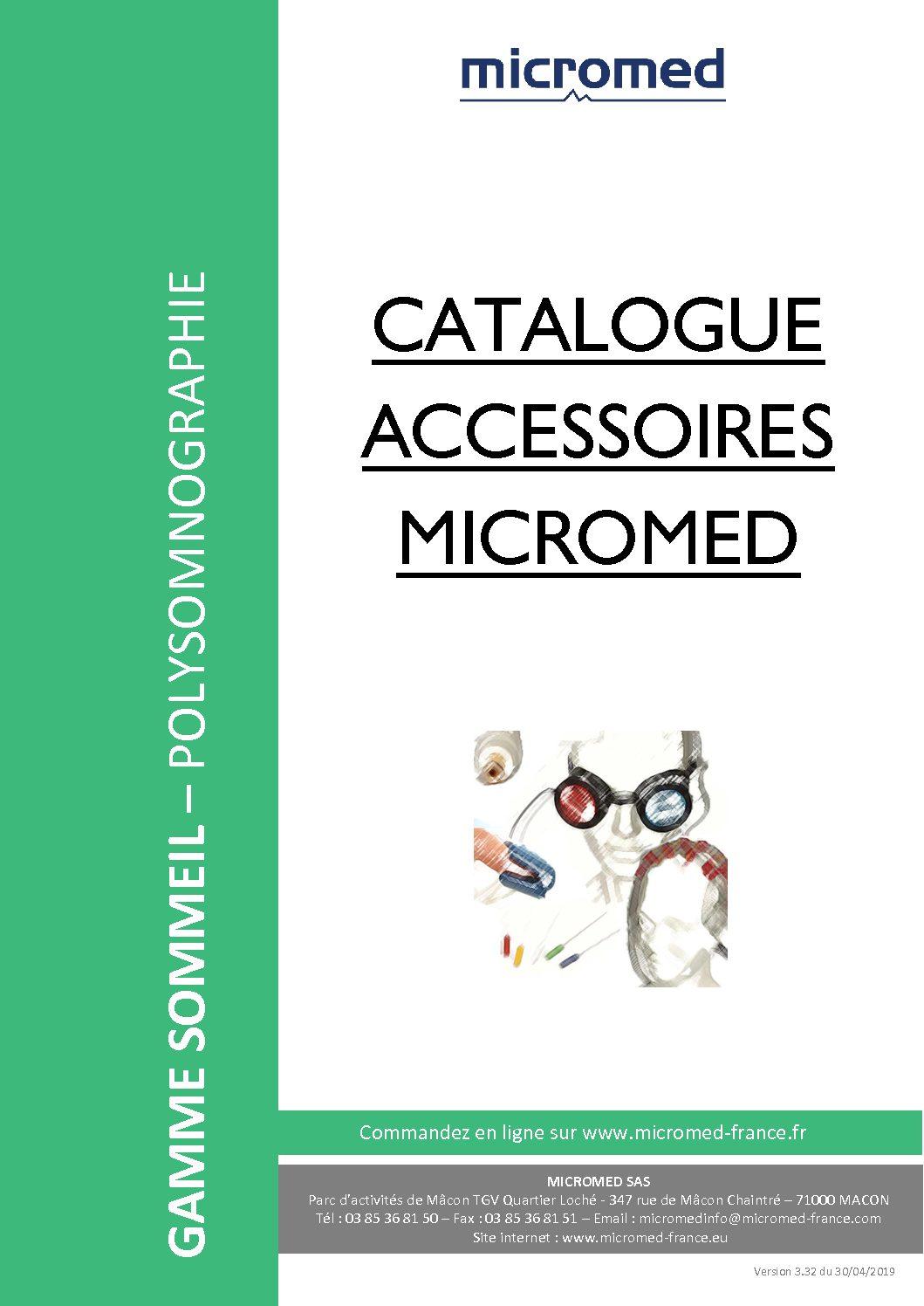 Supports Catalogues Catalogue accessoires Polysomno pdf - BRAIN QUICK Ambulatoire