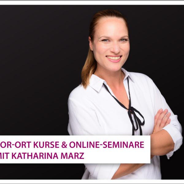 Unsere Schulungspartnerin Katharina Marz