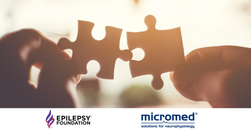 EF Partnership 1 800x419 - Micromed is Now a Proud Partner of the National Epilepsy Foundation