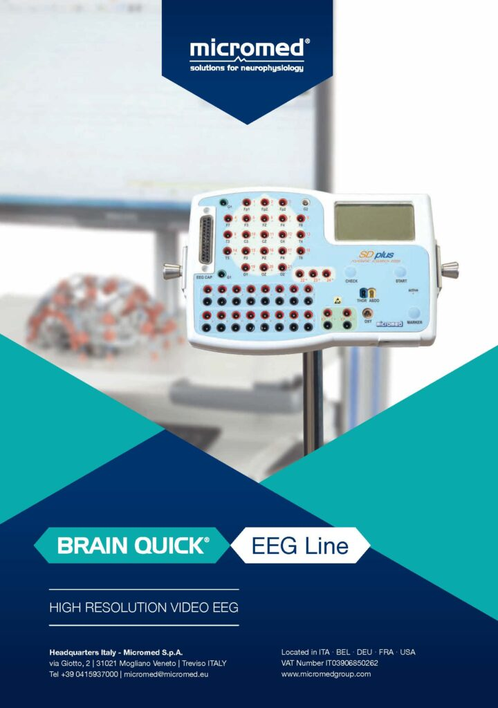 Cover Prospekt BRAIN QUICK EEG