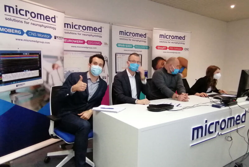 Micromed Group - La 18ème réunion commerciale de Micromed en version virtuelle!