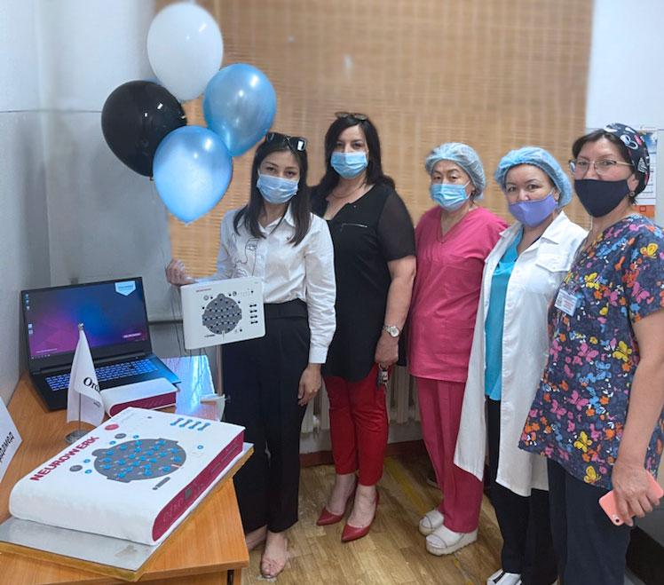 Micromed Group - 2000th NEUROWERK EEG goes to Kazakhstan