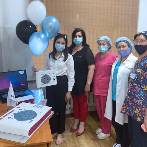 Micromed Group - 2000. NEUROWERK EEG geht nach Kasachstan
